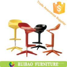 Moderno Ocio Ajustable Bar Productos Taburete De Bar Cuchara De Plástico Barra Presidente RBS-6293