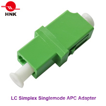 LC Simplex Singlemode APC Standard Fiber Optic Adapter