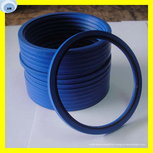Sellos hidráulicos Sello de pistón Sello de material de PU
