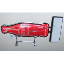 Cocacola Outdoor Vacuum Forming Light Box Bottle Shape sign