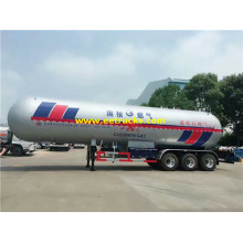 Tri-axle 62 CBM Propane Gas Tank Trailers