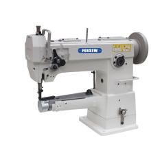 Single Needle Silinder Lengan Unison Feed Walking Foot Heavy Duty Lockstitch Sewing Machine