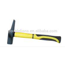 High Quality Hammer,Machinist Hammer With Half Plastic-coating Handle