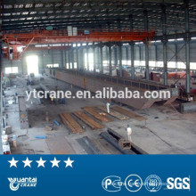 Power plant double girder overhead travelling crane price with trade assurance
