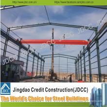 Leichte Stahlkonstruktions-Fabrik-Werkstatt mit Crane Beam