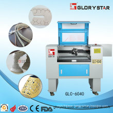 Laser Cutting and Engraving Machine with CO2 Glass Tube