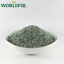 Forme verte naturelle de roche de zéolithe ébréchée pour le remplissage organique d'engrais d'aquaculture