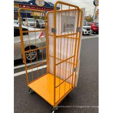 Chariot de chariot de cage d'entrepôt logistique