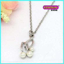Hot Sell Silver Jewelry Pearl Pendant Necklace for Women