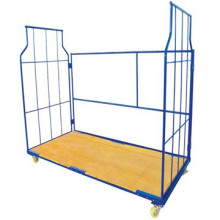 High capacity heavy duty rolling storage cart,ISO,CE certification(JS-TRC06)