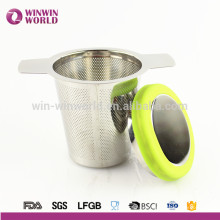 Christmas Gift Stainless Steel Tea Filter For Loose Leaf And Herbal Tea Brew in Mug Strainers For Teapot Cup