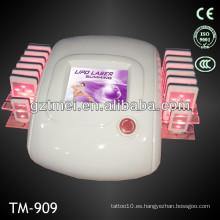 14 almohadillas lipo láser frío adelgazar máquina para uso doméstico
