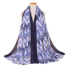 Завод укомплектован весна и лето хлопка с длинным обернуть хиджаб шарф женщин