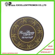 Único e elegante estilo logotipo impresso Soft PVC Coaster (EP-M5251)