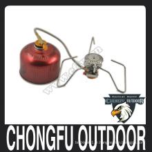 Poêle à gaz en acier inoxydable de style nouveau avec tube à gaz