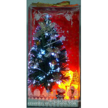 Lighting shining Colorful led fiber optic christmas trees