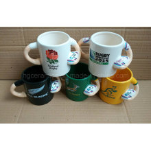Baseball Mug, Ceramic Baseball Mug