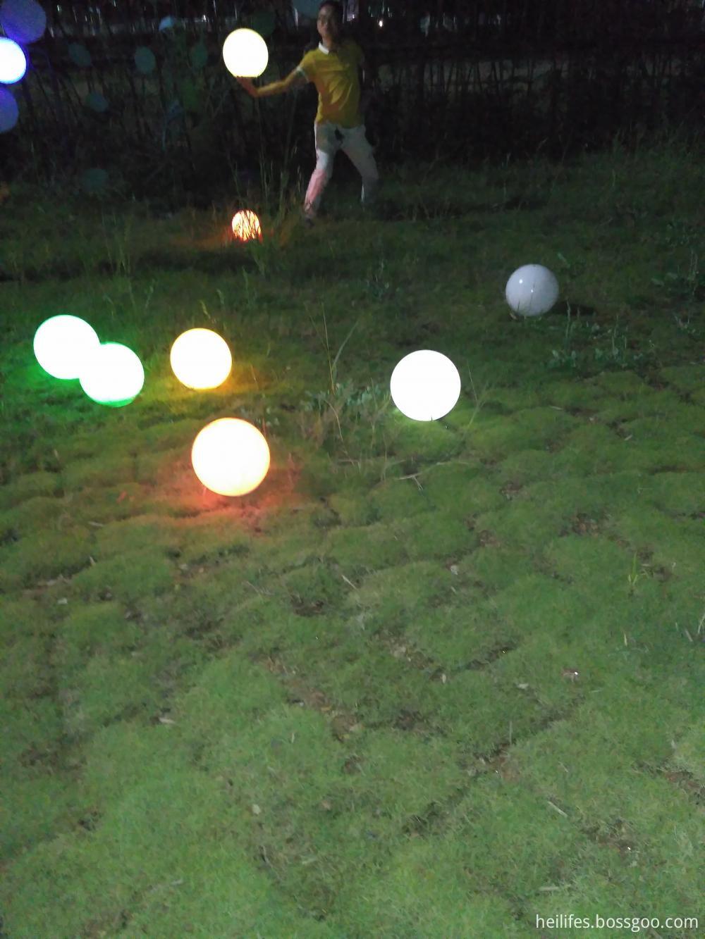 Outdoor led ball light