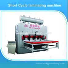 Machine à fabriquer des planchers en bois stratifié / parquet en bois