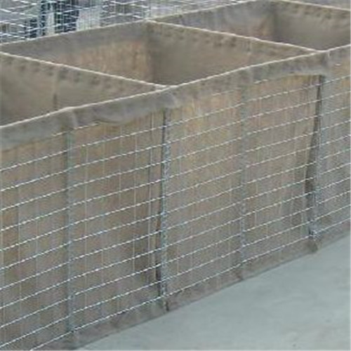 Hesco barrier defence wall