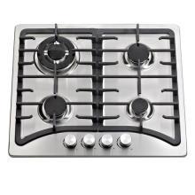 Partidario de Pan de hierro fundido Cocina de gas incorporada con 4 quemadores