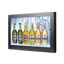 Supermarket Shelf Advertising 19 Inch LCD Touch Screen Monitor