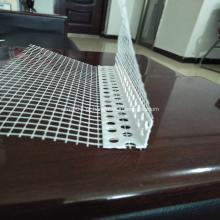 Grânulo de canto com malha de fibra de vidro para material de construção