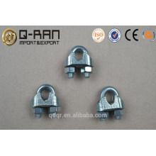 Gréement pince de fixation US Type malléable câble pince/fil
