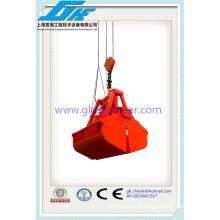 30t Eletro-hidráulico Clamshell Grab com corda de arame