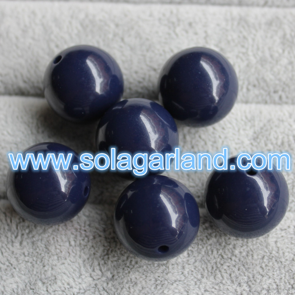 Acrylic Round Beads For Jewellery Making