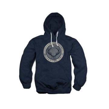 TENPOINT - ROUND LOGO HOODED SWEATSHIRT