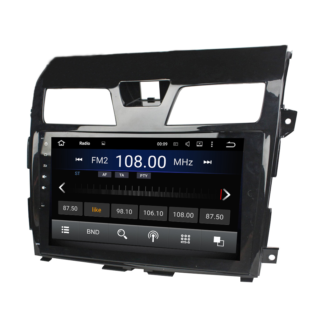 Nissan Tenna GPS navigation system Android 7.1