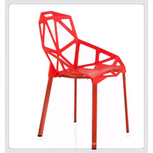 all plastic factory price alibaba plastic red leisure outdoor dining chairs