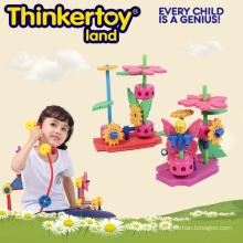Pädagogische Puzzles Plastikpuzzle Spielzeug für Kinder