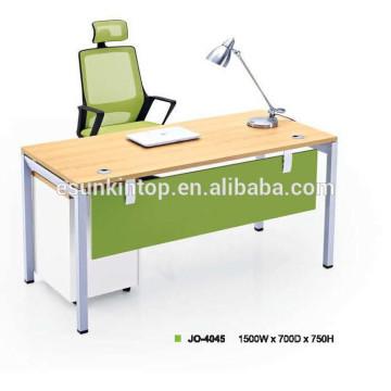 Escritorio portátil portátil con pierna de metal / escritorio de ordenador
