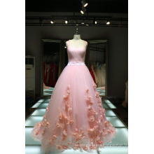 1A416 Lolita Flowers Pink Wedding Dress Manufacturers USA Dress Quality Real Picture