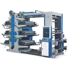 Machine d'impression Flexo à 6 couleurs offset offset
