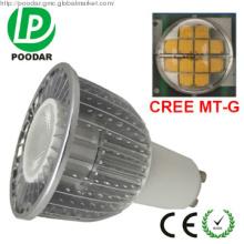 restaurant equipment CREE LED 7w GU10 dimmable 3000k