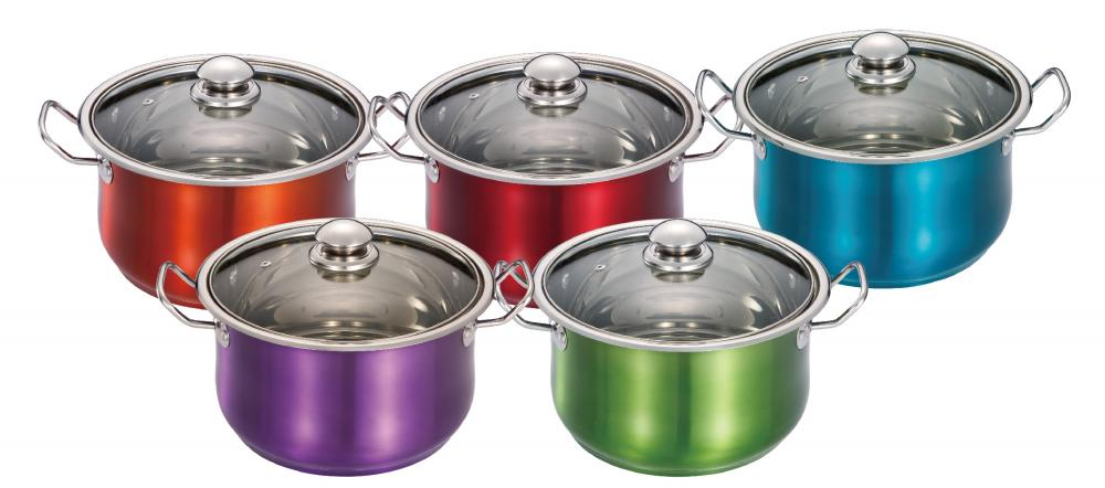 Stainless Steel Casserole With Coating