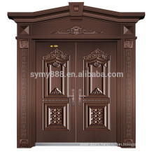 2018 new designs steel front men door Bullet proof door