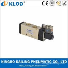 Válvula solenoide de aire de la serie 4V400, válvula neumática de aire del solenoide 12 voltios