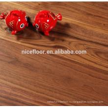 ЧЕРНЫЙ WALNAT ПОКРЫТИЕ Solid Engineer Wood Flooring