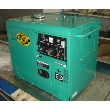 AC Single Phase 50Hz/4.2kw Key Start Sielnt Diesel Generator for Shop and Hotel Use