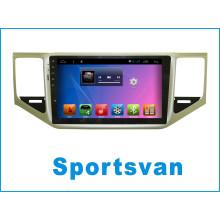 Android System Auto GPS Navigation für Sportsvan mit Auto DVD Spieler