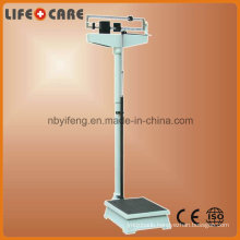 140/160/200kg Medical Double Ruler Body Scale