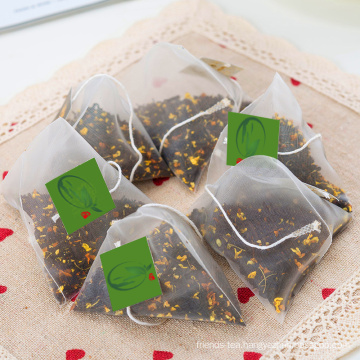 Flavored Tea Bags Pyramid