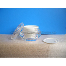 Diamond Shape Cream Jar