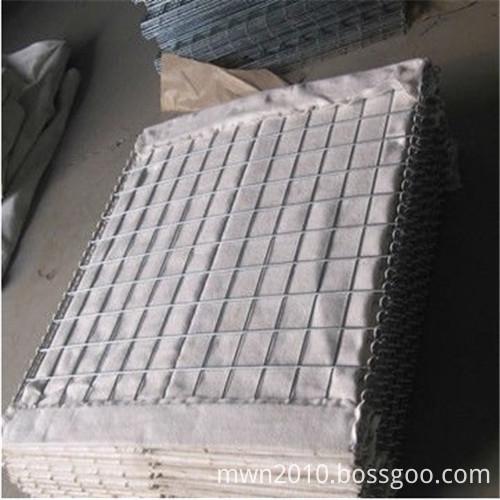 Flood control hesco wall