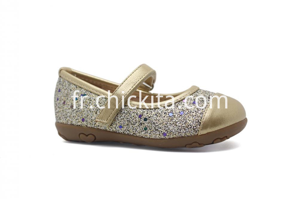 Glitter TPR Princess shoe