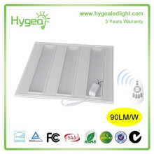 600 * 600 lampe de panneau led 36w led lamelle de panneau de grille